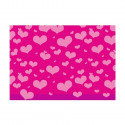 Herlitz Pakkepaber 2m x 70 cm Heartbeat pink