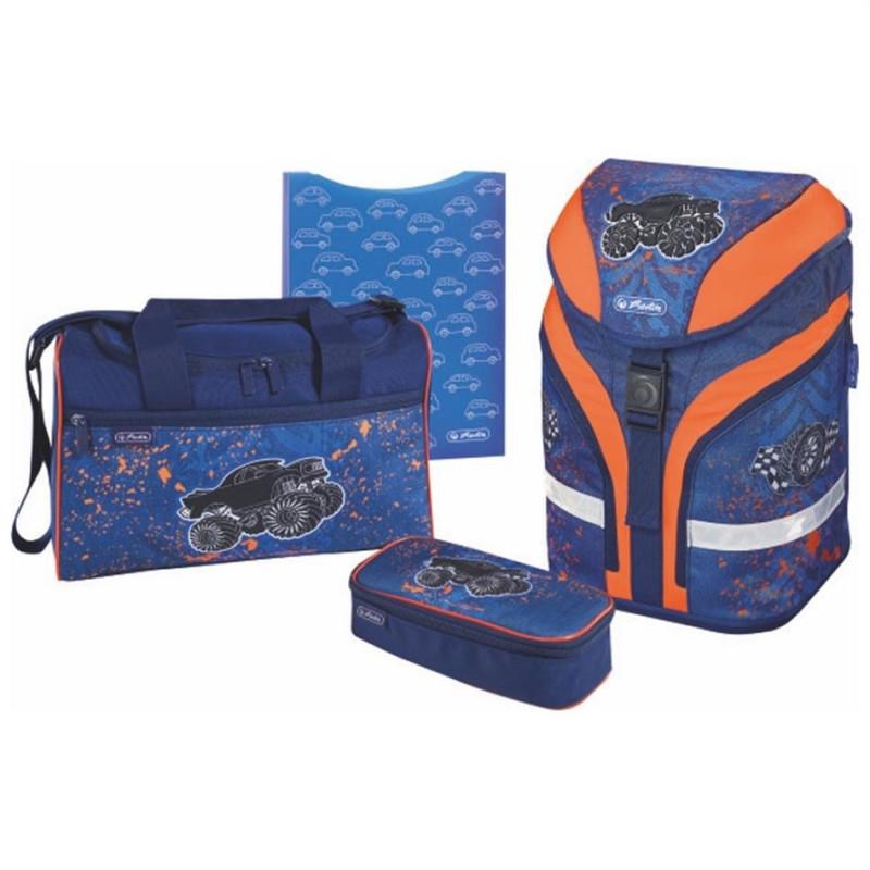 6fffda2e8c7 Herlitz Ranits MOTION PLUS - Monster Truck - Children's bags ...