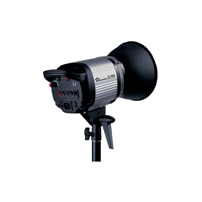 Linkstar Compact Flash Head FF-300D Demo