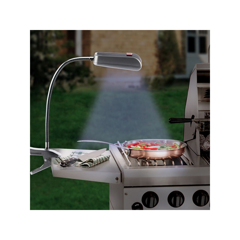 BBQ Barbecue Light with Clamp (9 LED Lights)