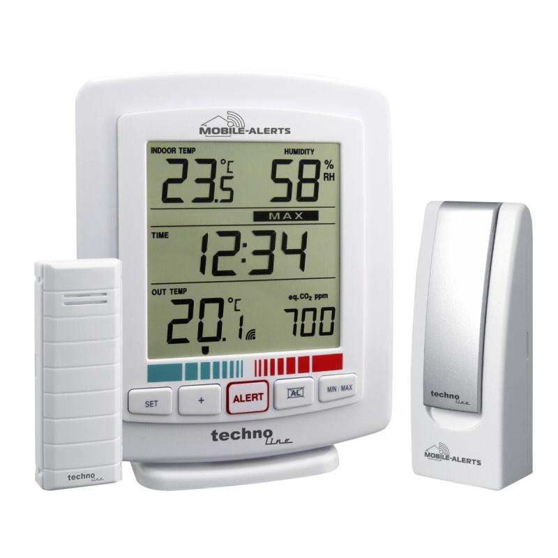 Technoline Mobile Alerts 10005 Basis + Air Qualtity Analyzer