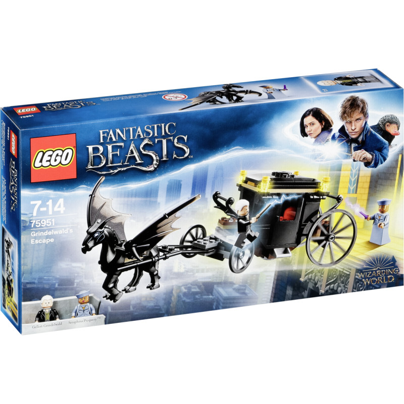 Fantastic Grindelwald's Bricks Lego Escape75951 Beasts kOPZuiX
