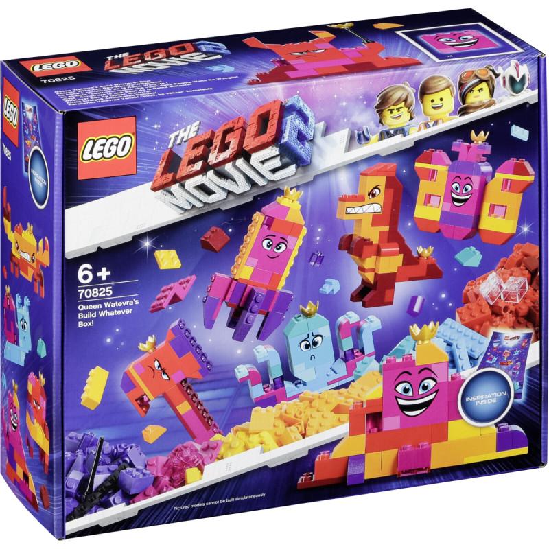 50a1355054b LEGO Movie 2 bricks Queen Watevra's Build Whatever Box! (70825 ...