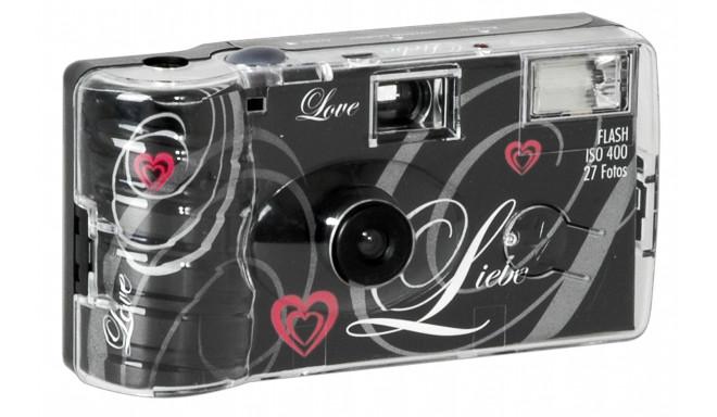 Einwegkamera ühekordne kaamera 27 Love, must