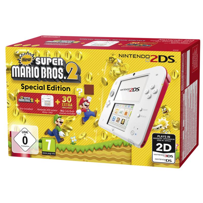 Nintendo 2DS + Super Mario Bros. 2