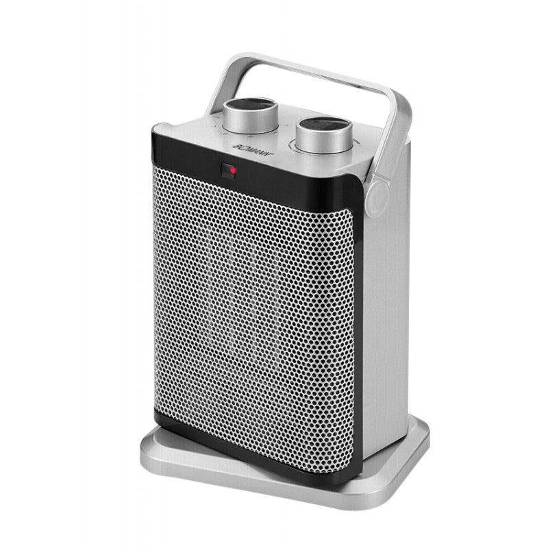 Bomann HL 1097 CB silver ceramic heating element