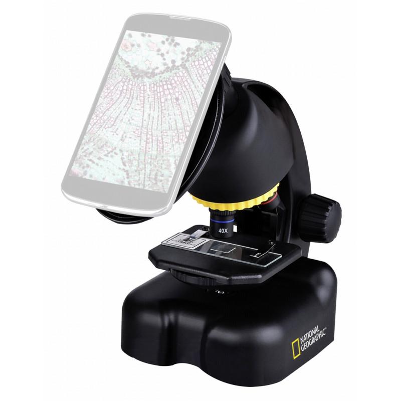 Bresser teleskoop + mikroskoop telefonihoidikuga