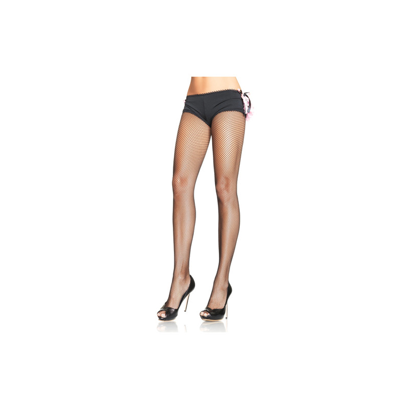 9e11f001910 Nylon Fishnet Pantyhose - Black (QS 46-50) - Stockings   socks ...