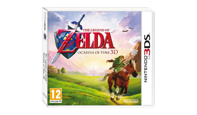 3DS mäng The Legend of Zelda: Ocarina of Time