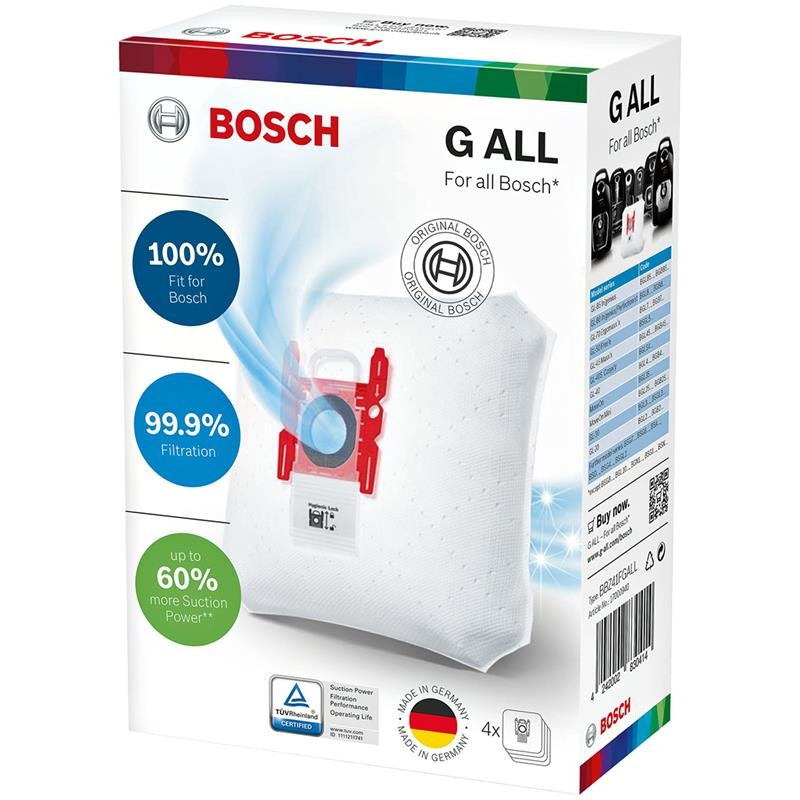 Bosch vacuum cleaner bags PowerProtect