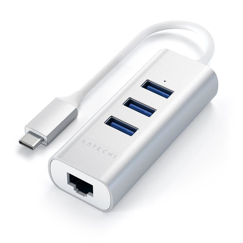 Satechi USB hub USB-C + Gigabit Ethernet