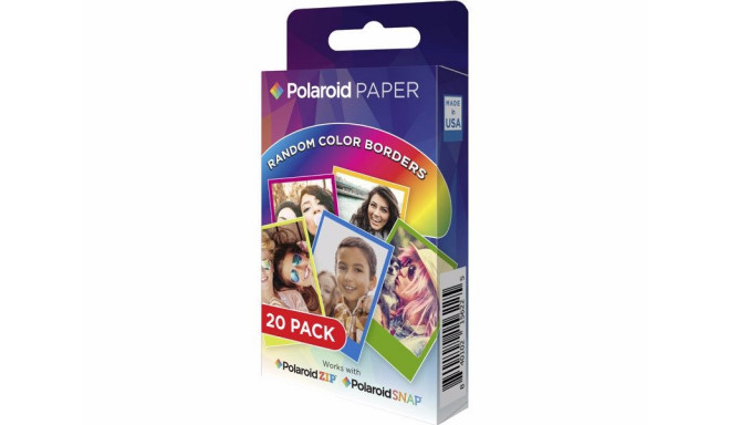 Polaroid Instant ZINK Media Rainbow 2x3 20tk