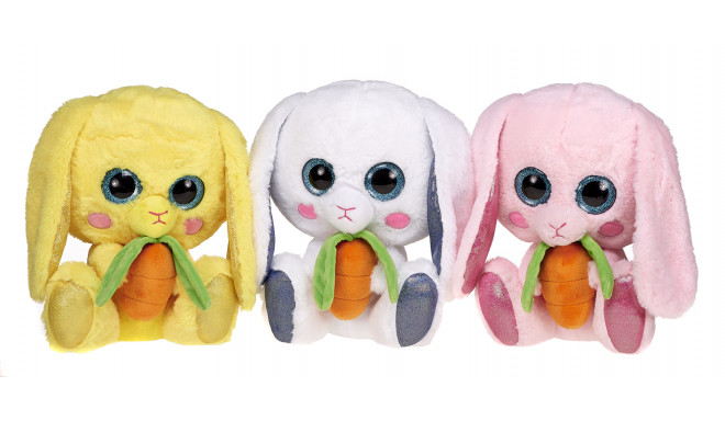 24cm Rabbits With Ribbon 4 Asst - random style