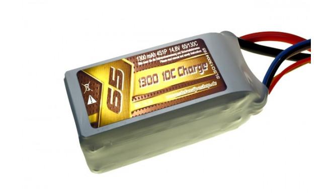 1300mAh 14.8V 65/130C SLS Quantum