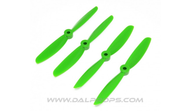 Dal Props 5x4.5 green (2CW+2CCW)