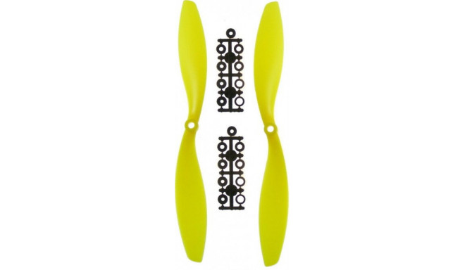 2 propellers GPX Extreme (CW+CCW) 10x4.5 – yellow