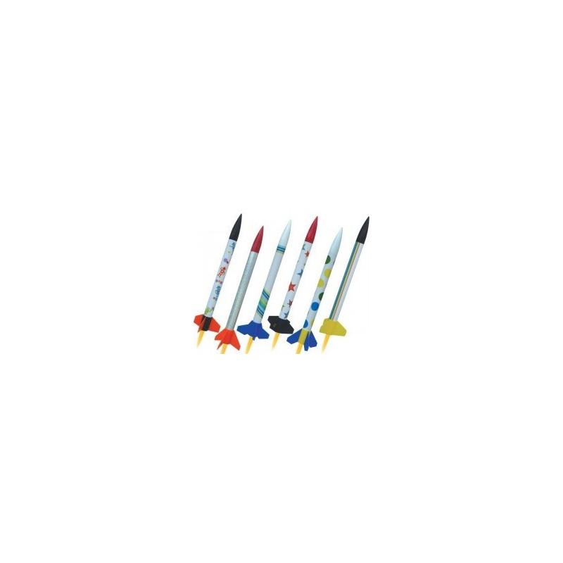 Zestaw sześciu rakiet MAXI 2502