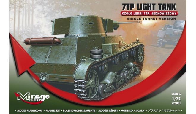 7TP Polish 1-turret light tank