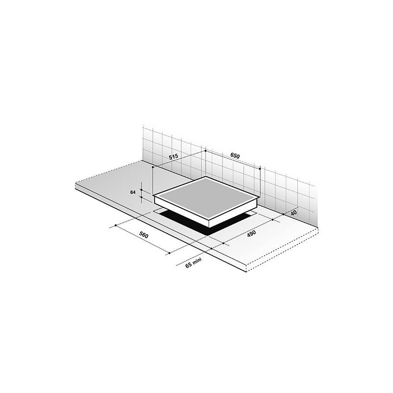 De integreeritav Dietrich induktsioonplaat DPI7572W
