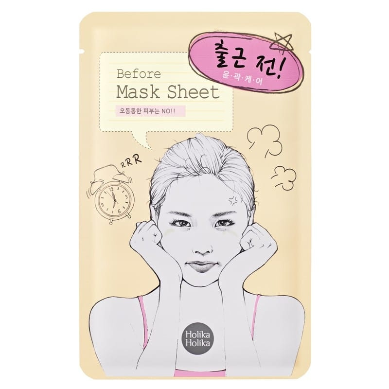Holika Holika näomask Before Mask Sheet - Before Going To Work
