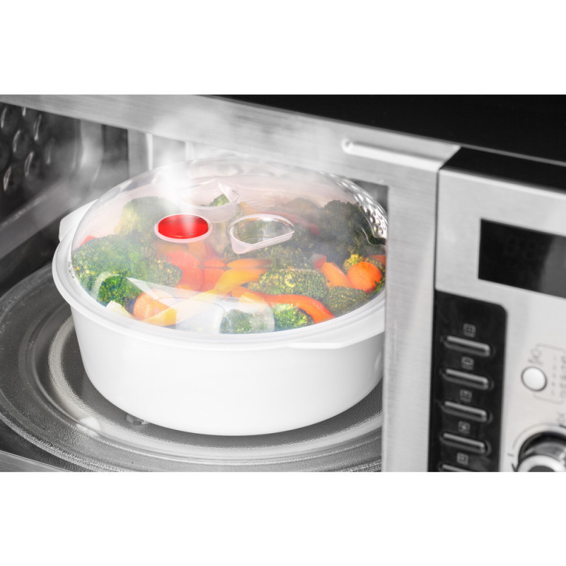 Steamer For Microwave Oven Lamart