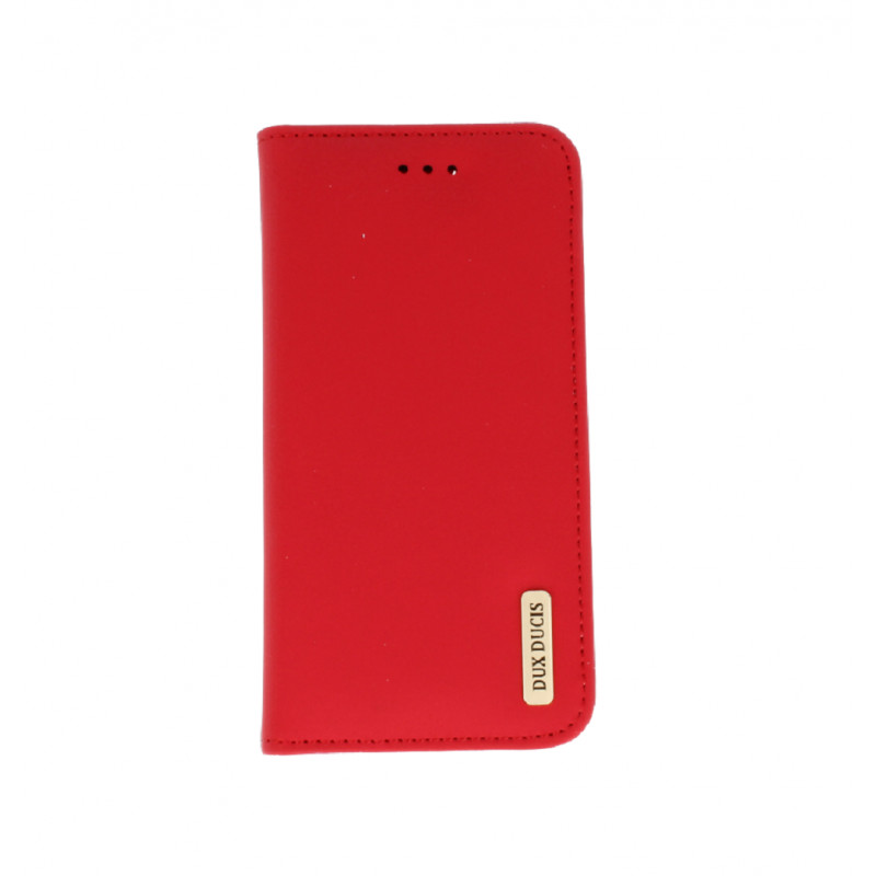 new styles ac01c c8e30 Dux Ducis case Wish Magnet The Real Leather Apple iPhone 7 Plus/8 Plus, red