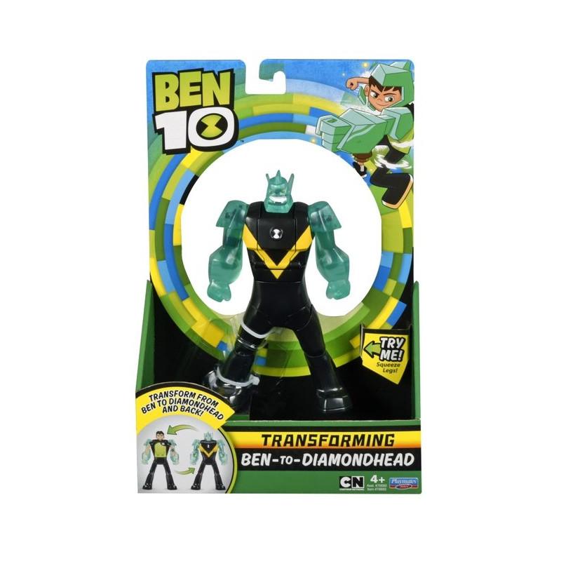 BEN10 Ben to DiamondheadTransforming Figure, 76693