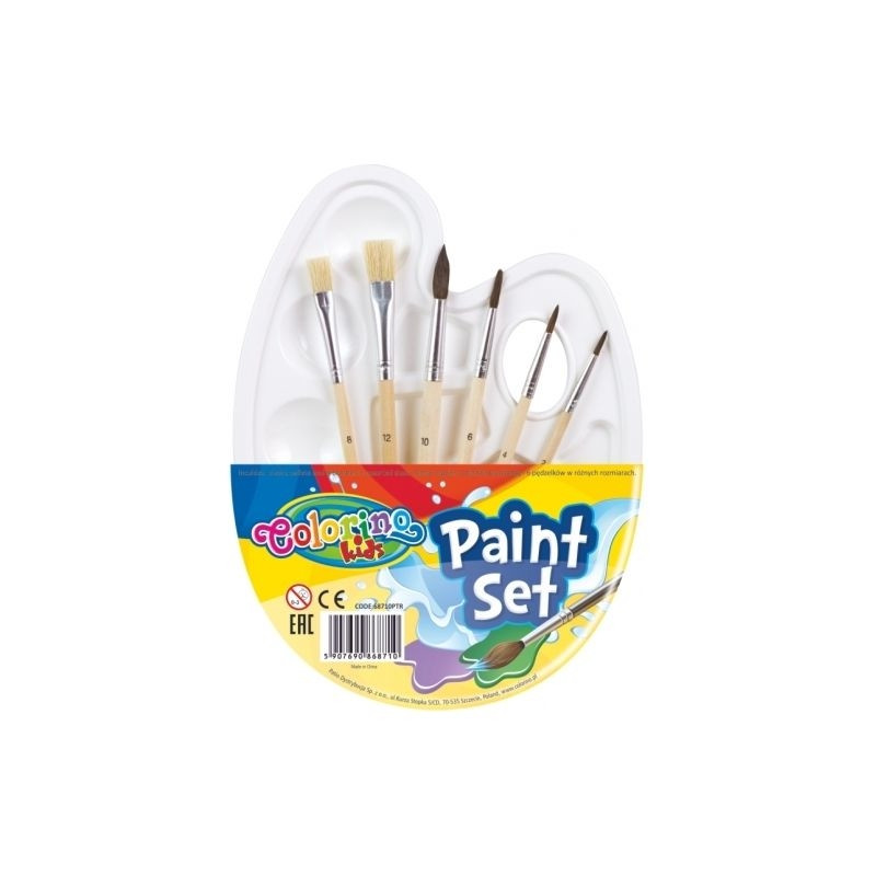 COLORINO CREATIVE Paint set, 68710PTR