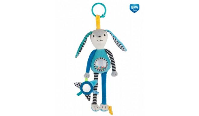 CANPOL BABIES plīša rotaļlieta ar grabulīti, 68/061
