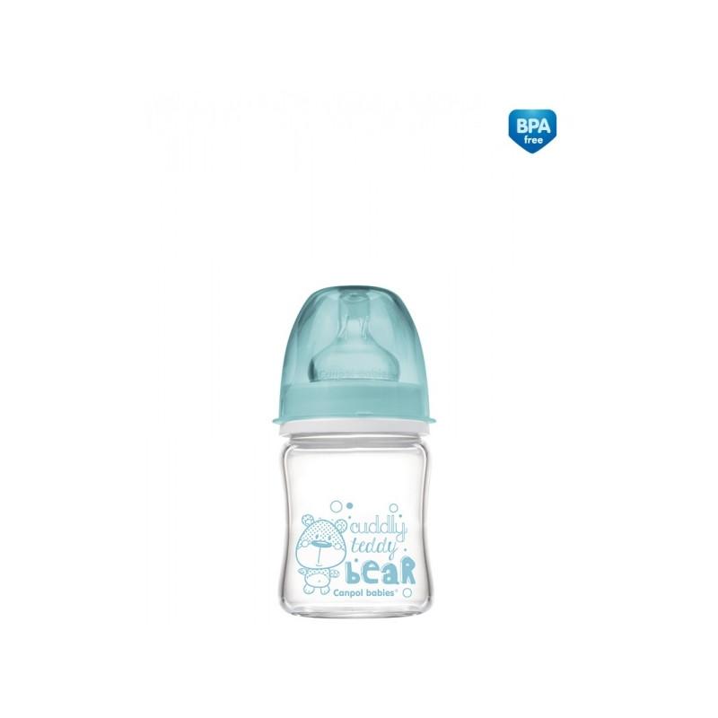 CANPOL BABIES laia kaelaga lutipudel Anti-Colic EasyStart glass 120ml 79/001
