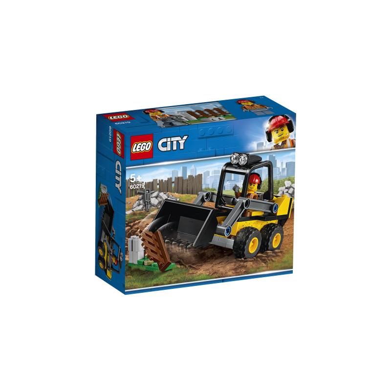 60219 LEGO® City Great Vehicles Būvlaukuma iekrāvējs