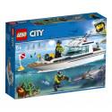 60221 LEGO® City Great Vehicles Niršanas jahta