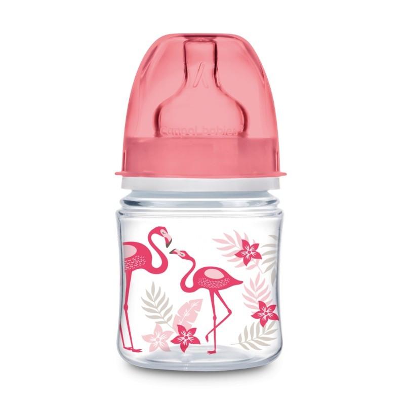 CANPOL BABIES babies EasyStart laia kaelaga pudel Džungel, 120 ml, 35/226_cor