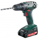 Akutrell BS 18, 10 mm padruniga / 2,0 Ah, Metabo