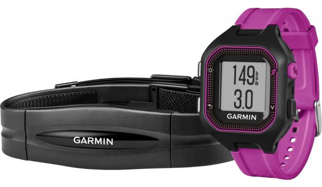 Garmin Forerunner 25 HRM black/purple - S