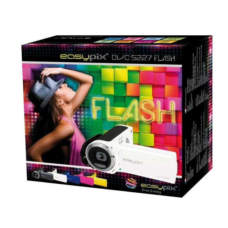 Easypix DVC5227 Flash White 23004
