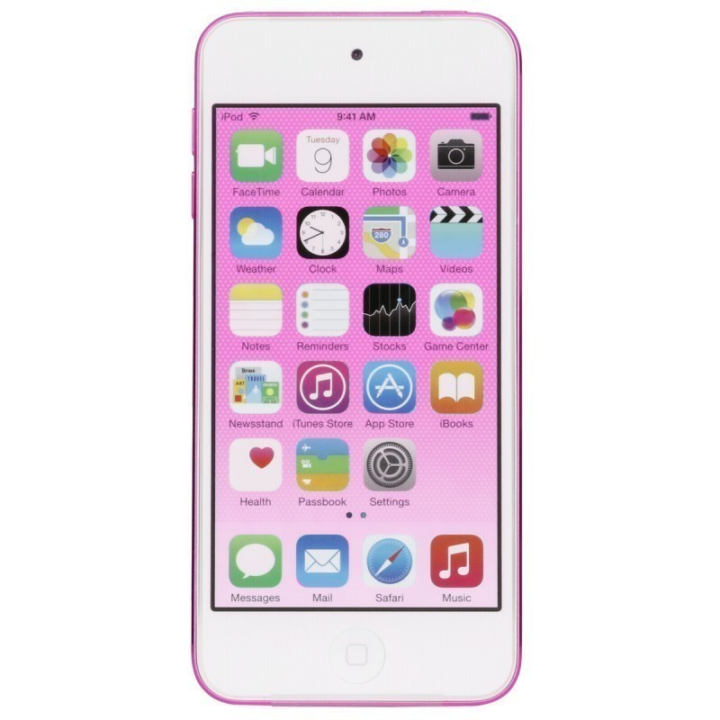 apple ipod touch pink 64gb 6 generation mp3 players photopoint. Black Bedroom Furniture Sets. Home Design Ideas
