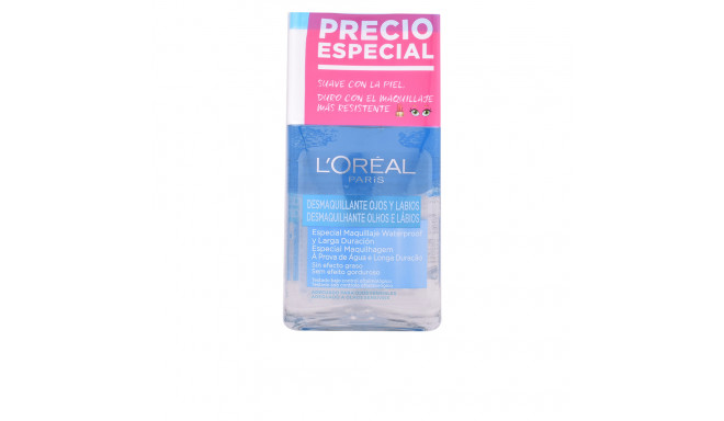 L'Oreal Make Up DESMAQUILLADOR OJOS waterproof DUPLO 2 x 125 ml