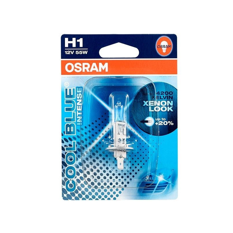 OSRAM Autolamp Cool Blue Intense H1 12V 55W P14.5S