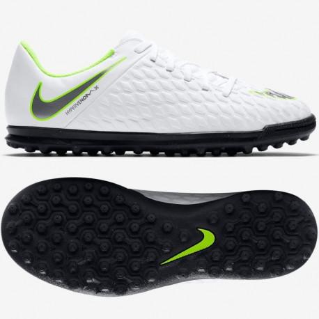 sale retailer f3ff9 ff9c8 Kids football shoes Nike Hypervenom Phantomx 3 Club TF Jr AJ3790-107