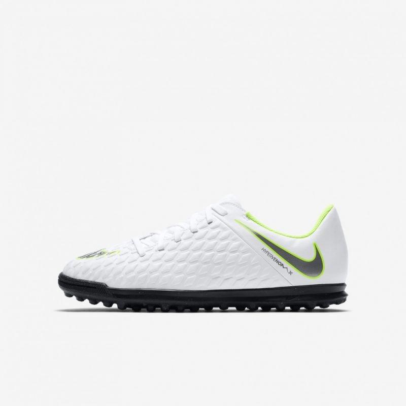 1b3a53a86 Kids football shoes Nike Hypervenom Phantomx 3 Club TF Jr AJ3790-107 ...