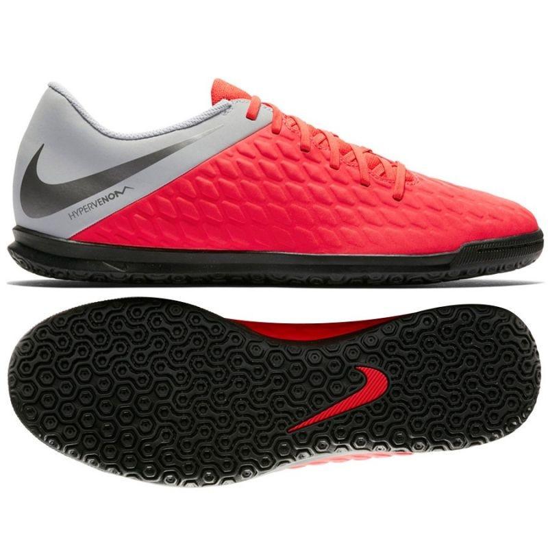 f241be578bdb Kids indoor football shoes Nike Hypervenom PhantomX 3 Club IC Jr AJ3789-600