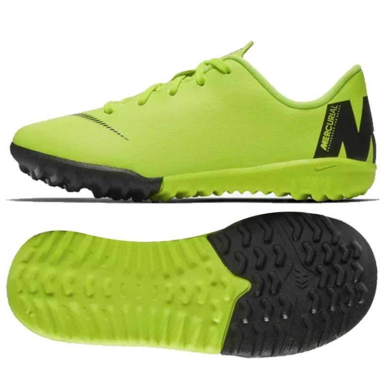 new concept 60afd 9d40d Kids turf football shoes Nike Mercurial VaporX 12 Academy TF Jr AH7353-701