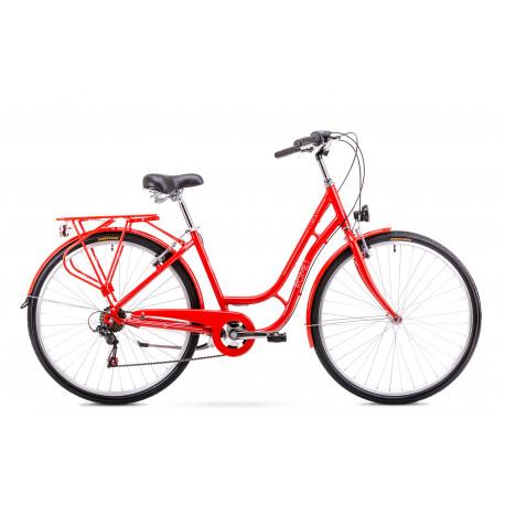 3073d7eb46a Naiste linnajalgratas 18 M Rower ROMET LUIZA 6S punane