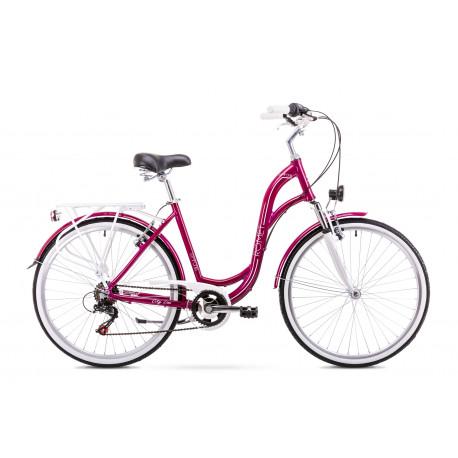 d28c19ff343 Naiste linnajalgratas 19 L Rower ROMET SYMFONIA 1.0 roosa