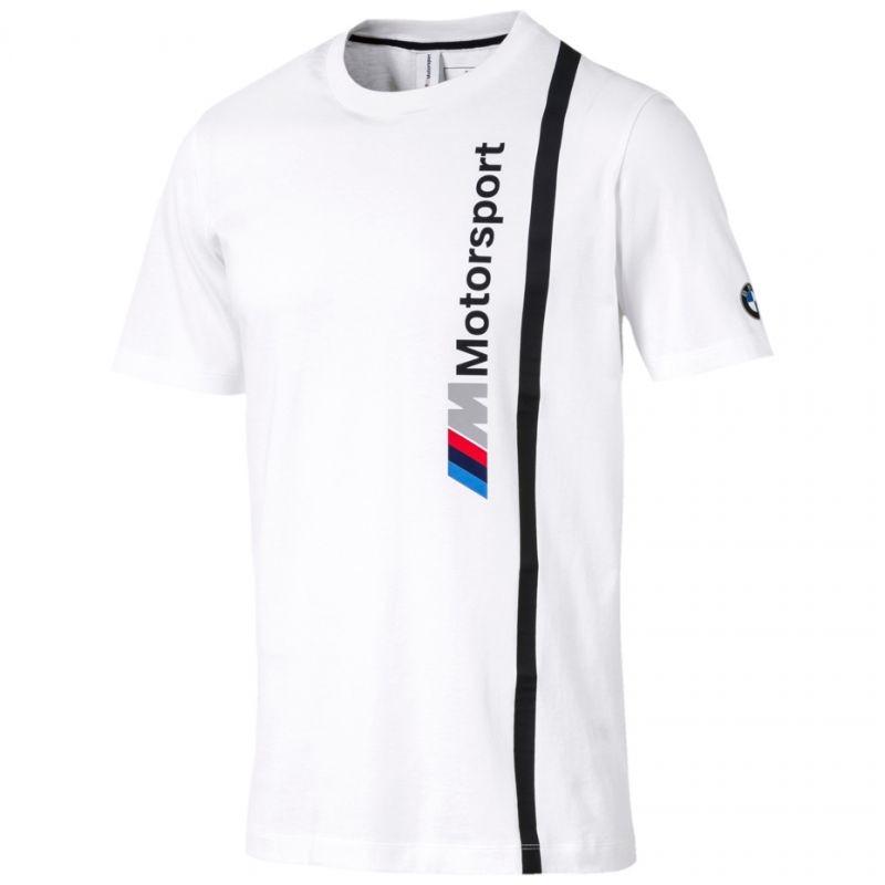 9fea3a1b05c Men's casual shirt Puma BMW MMS Logo Tee M 576654 02 white - Shirts ...