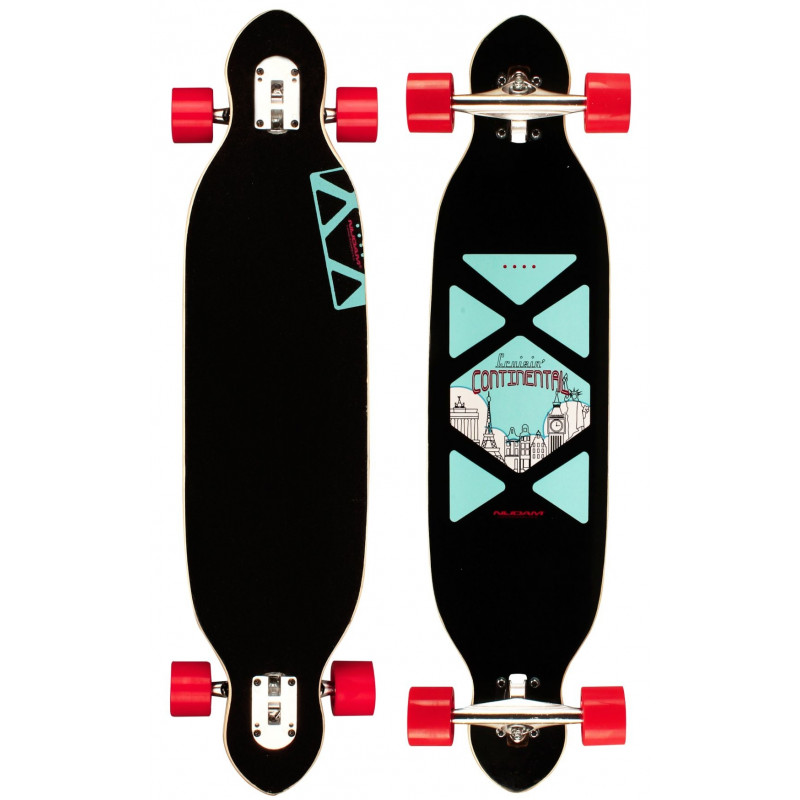 Longboard 38 Black Dragon