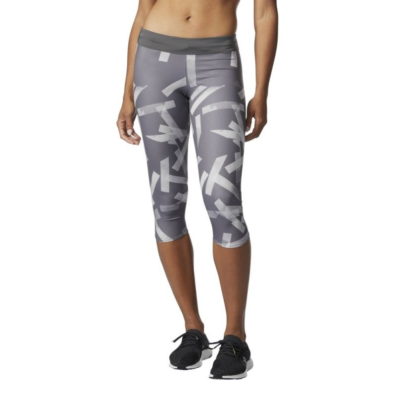 9929a26530a07 Women's running tights adidas Response 3/4 Q3 Tights W BS2718 ...