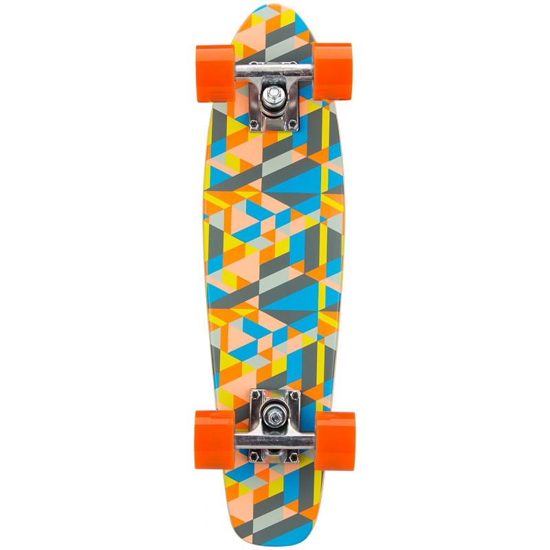 Skateboard Pennyboard Wooden 225 Flip Board Black Dragon