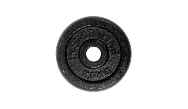 2.5kg Steel Weight Plate inSPORTline